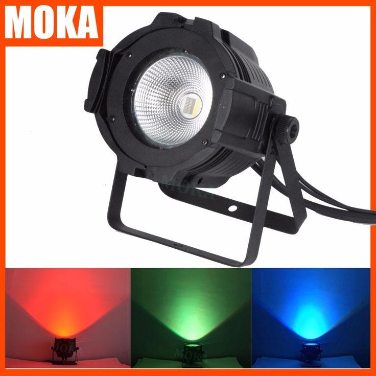 6 pcs/lot 100W dmx led cob par light 4in1 COB LED Par LED wash light stage DMX lighting for sale led lights for parties #Affiliate