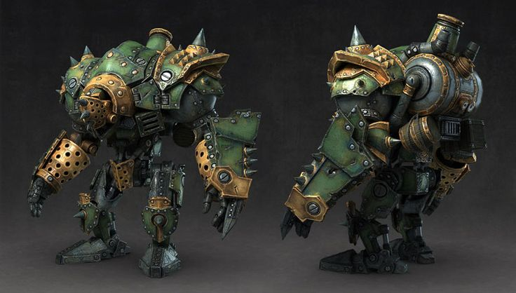 Pixologic ZBrush Gallery: Art Dump - Warmachine Tactics - Characters
