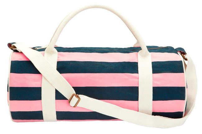 Look Stylish While You Get in Shape with Fun Fitness Gear Like Jack Wills' The Ledbrook bag
