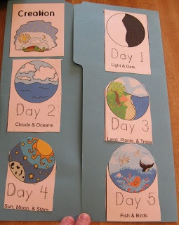 A lapbook about Creation that you can make and send to your sponsor kids.