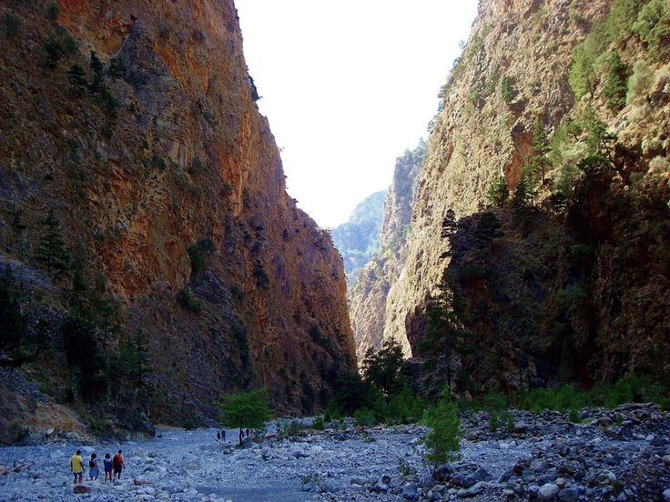 Have you been to Samaria gorge???   A truly unique & memorable place for hiking!!