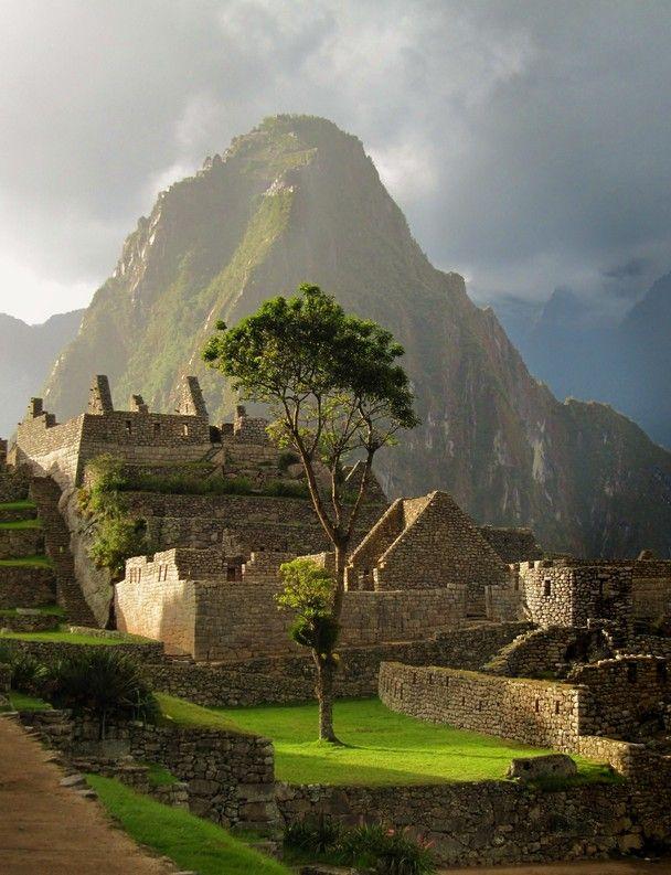 Late Afternoon Sun at Machu Picchu
