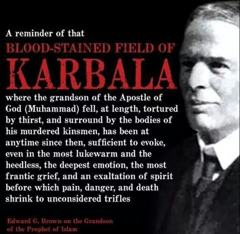 Non-Muslims on the tragedy of Karbala.