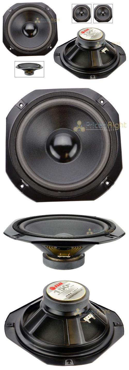 Speaker Parts and Components: 2 Zebra 10 8 Ohm Dj Car Home Sub Woofer Replacement Subwoofer Speakers Nwx-1077 -> BUY IT NOW ONLY: $48.95 on eBay!