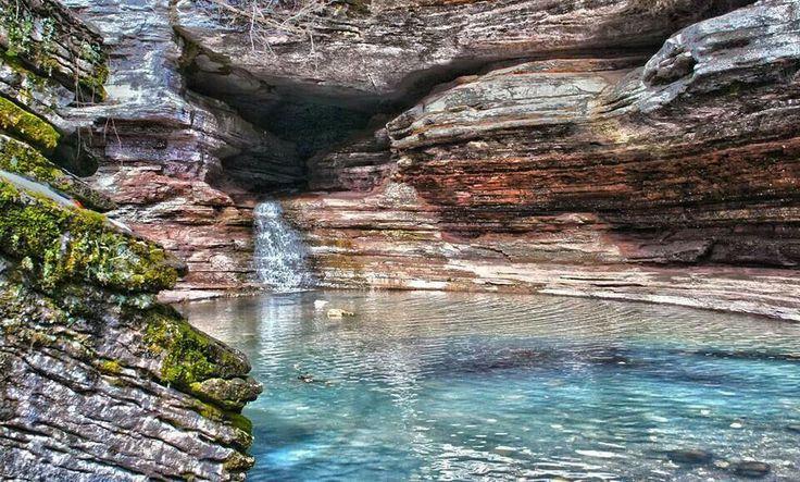 Hidden Valley, near Cherokee Village, Arkansas And Then