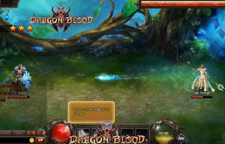 Dragon Blood is a turn-based free to play 2D/3D MMORPG. #dragonblood
