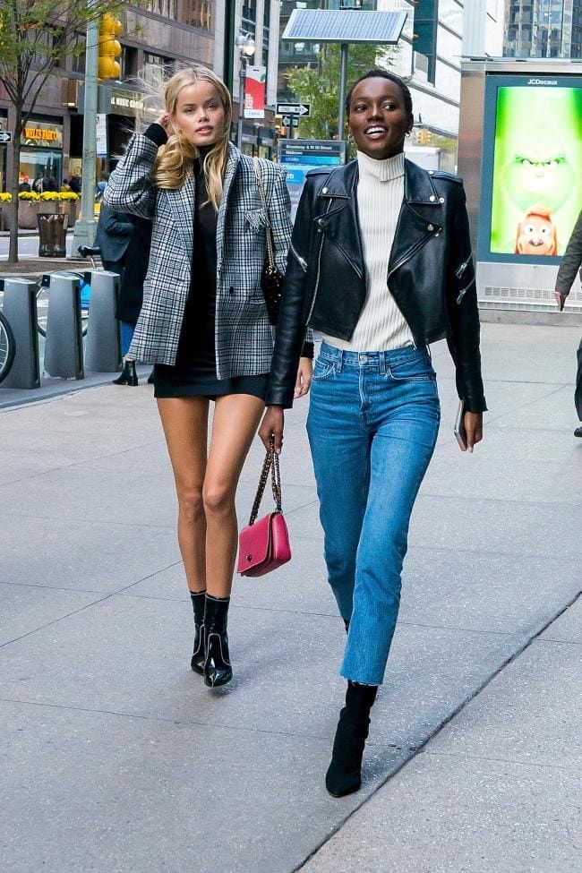 f43d09e44d The Victoria s Secret models and Angels turned their fittings into a street  style parade - Vogue