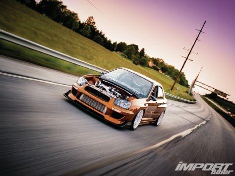 2005 Subaru WRX - Volk Racing TE-37SL - Import Tuner Magazine