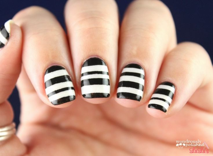 The 25 best striped nails ideas on pinterest striped nail art the 25 best striped nails ideas on pinterest striped nail art subtle nails and striped nail designs prinsesfo Gallery