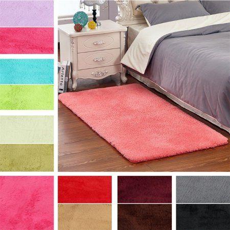 Brilliant Home Bed Bedroom Carpet Fluffy Rug Bedroom Flooring Interior Design Ideas Inamawefileorg