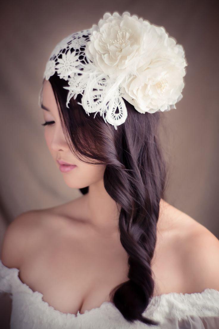127 best bridal headpieces images on pinterest | bridal headpieces