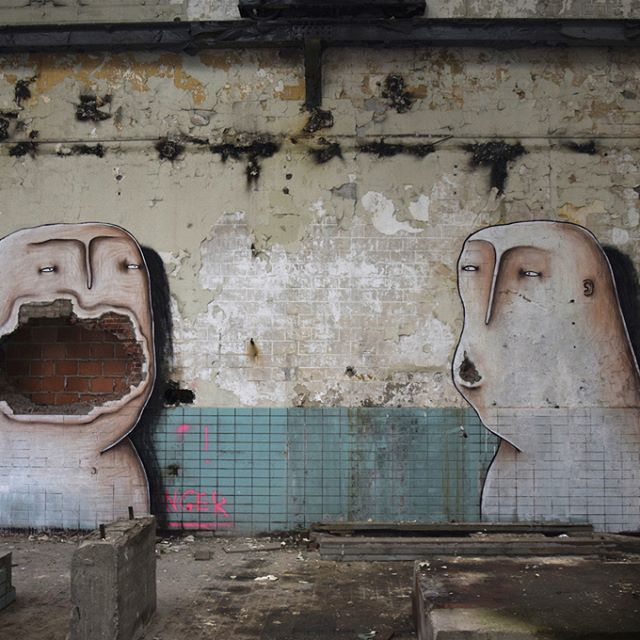 BISSER  .. abandoned place in Leuven ..  [Belgium 2017]