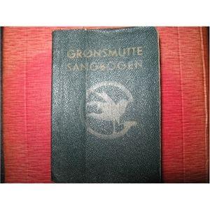 Grønsmutte Sangbog, KFUK sp... Brownie Song Book from Denmark, 1955-  De grønne pigespejdere
