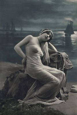 Siren of the sea, French photograph