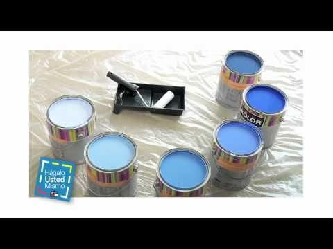 Hágalo Usted Mismo: PINTA con Stencil - YouTube