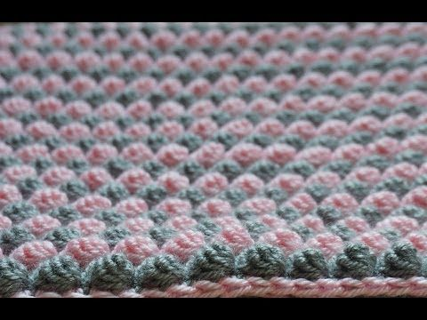 EASY crochet catherine wheel / starburst stitch blanket tutorial - part 1 - YouTube