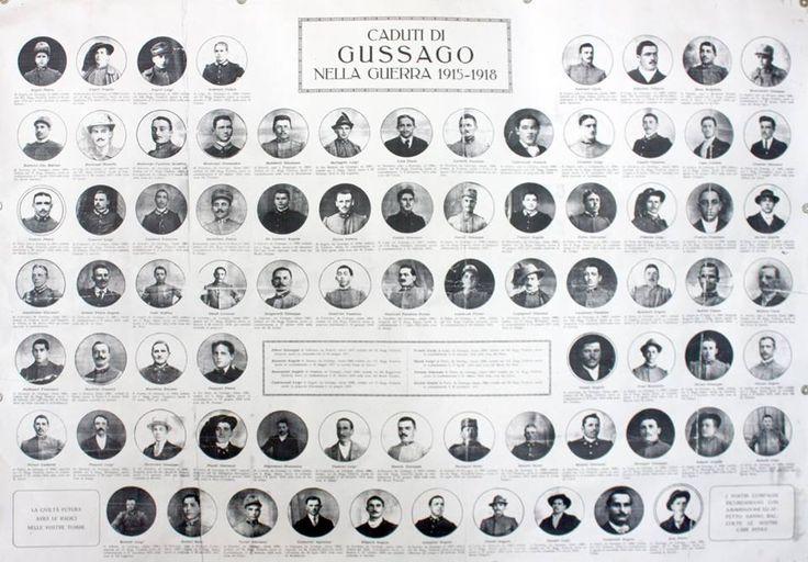 La Prima Guerra mondiale, 1915: gussaghesi alle armi - http://www.gussagonews.it/prima-guerra-mondiale-1915-gussaghesi-armi-caduti/