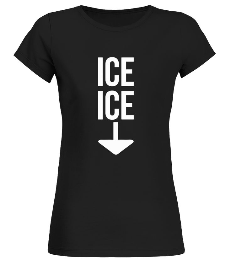 """Ice Twice Pregnancy Announcement Funny T-Shirt   This shirt says Ice Ice an arrow pointing down. Whether you are expecting a baby or twins or even announcing pregnancy this is the perfect shirt to make everyone laugh.   Wear this teeshirt proudly to the office, work, outdoors or even holiday parties.            TIP: If you buy 2 or more (hint: make a gift for someone or team up) you'll save quite a lot on shipping.     To contact us via e-mail, please go to the section """"Frequently as..."""