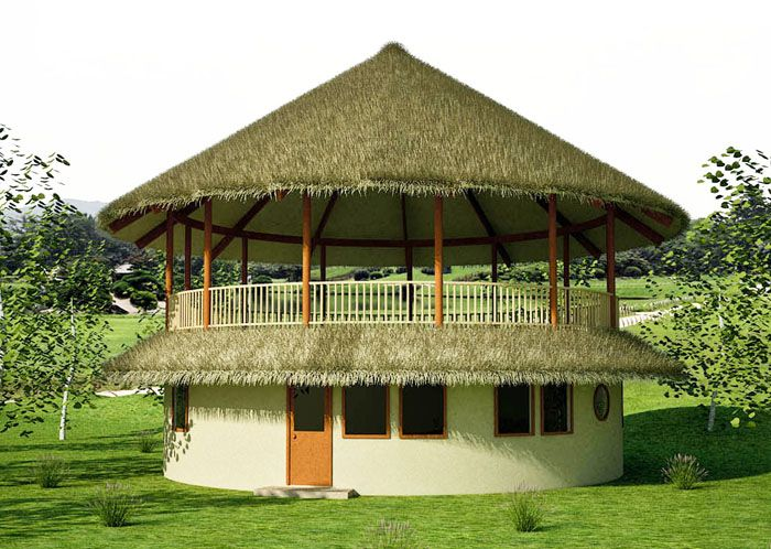 roundhouse with open air deck