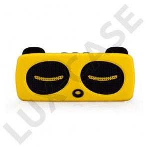 Momax Music Panda Langaton Bluetooth Kaiutin – Keltainen