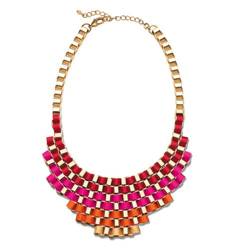 mark: Weave It To Me #Necklace Order @ http://ericagerlemann.avonrepresentative.com/ -> shop now -> mark. in the top bar. #jewelry #boldcolors