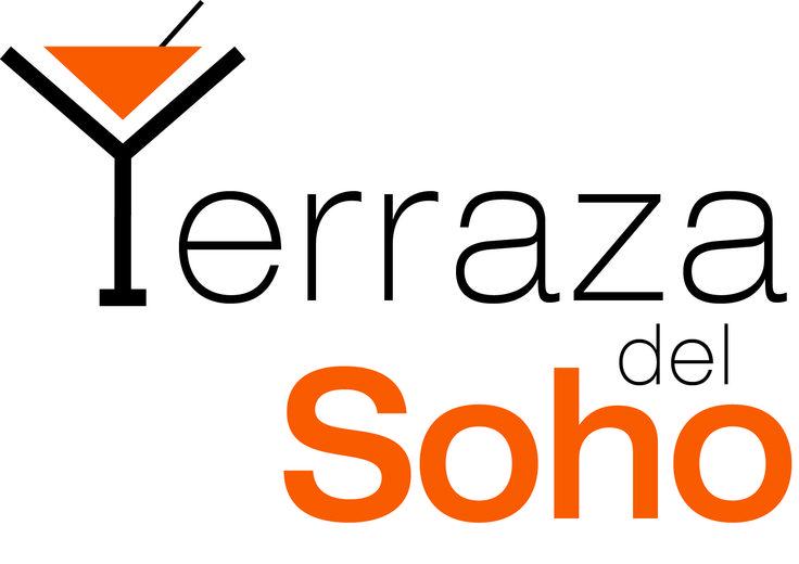 Logotipo para la Terraza del Soho, hotel situado en Málaga capital.