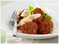 Meatballs in sugo sauce