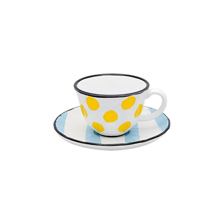 MIX ME | Tea Cup and Saucer