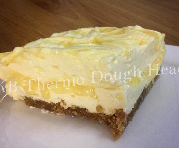 Recipe Lemon Curd Cheesecake Slice by KB Thermo Dough Heads - Recipe of category Baking - sweet