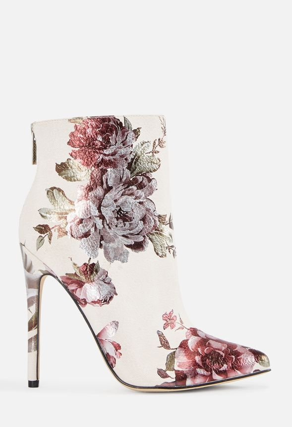 990593a96cd Madelina Bootie in floral - Get great deals at JustFab   ~ shoes ...