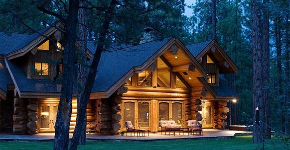Beautiful Dream Home Log Cabin Pinterest
