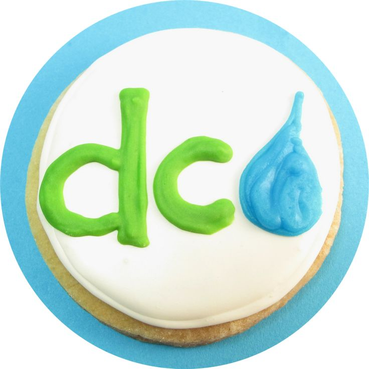 vegan cut-out cookies and dc water | The Decorated Cookie