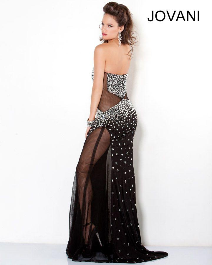 Black Jovani Prom Dress