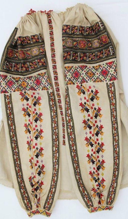 #Ukrainian embroidery shirt  Bukovina.