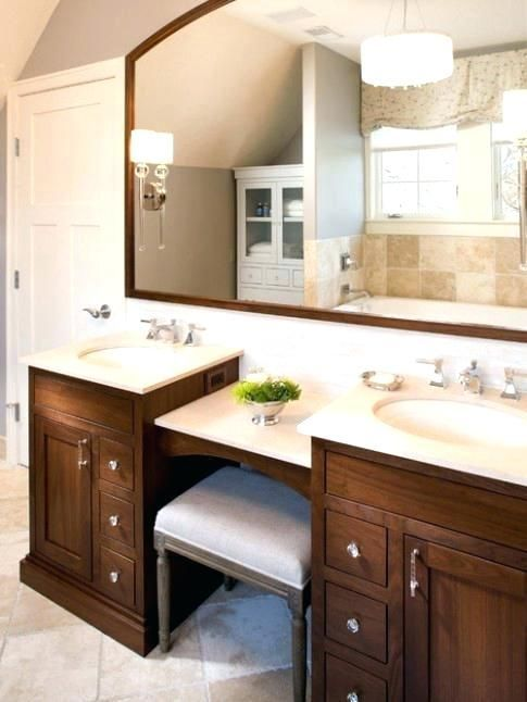 A Comprehensive Overview On Home Decoration Bathroom With Makeup