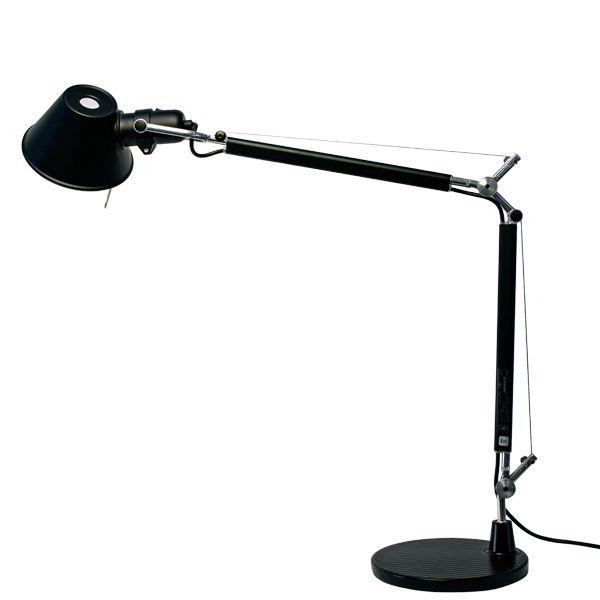 Artemide Tolomeo Mini Table Lamp Black In 2020 Mini Table Lamps Table Lamp Lamp
