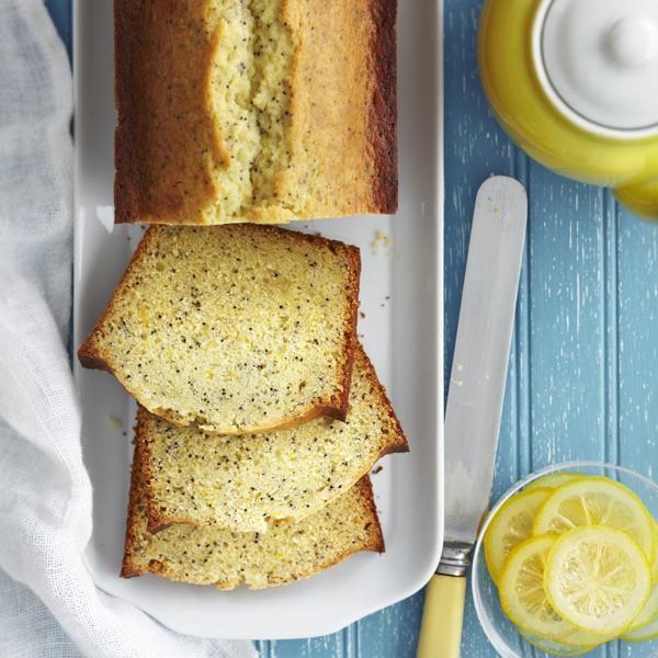 Gâteau au citron, au miel et aux graines de pavot [Châtelaine, avril 2012]