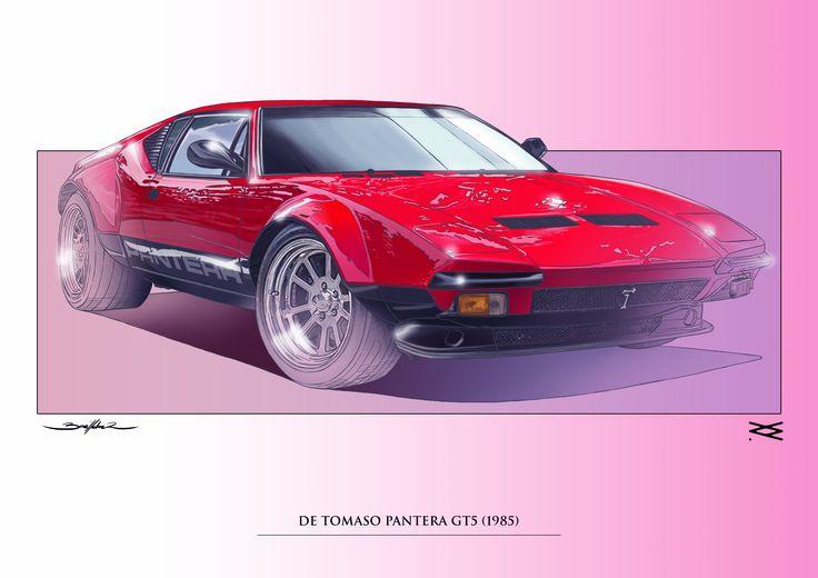 DE TOMASO PANTERA GT5 1985