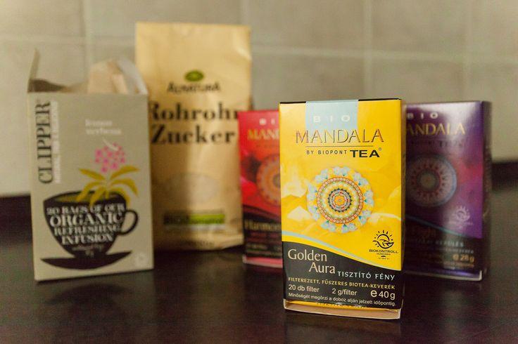 Bio tea, amivel várunk:) www.eljharmoniaban.hu #kezdőjóga #hathajóga #jógatanfolyam #jóga #jógabudapest #meditáció #meditációstanfolyam  #jógastúdió #yogabudapest #yogabudapest  #eljharmoniaban #bio #organic #tee #mandala #clipper