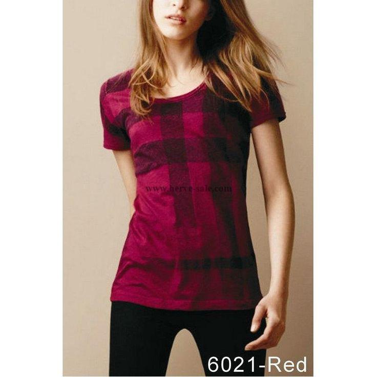 Burberry Women T-Shirt 2014-2015 S-2XL BWS029(4 colors)