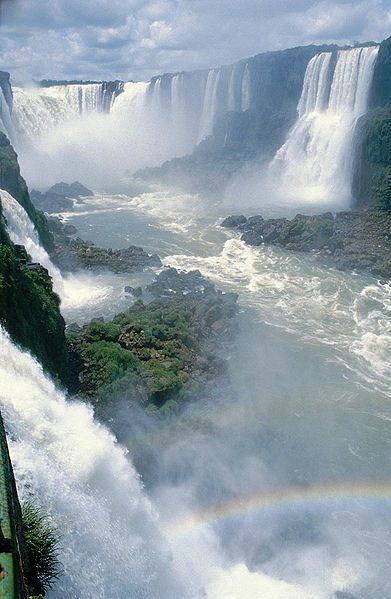 Iguazu Falls, Argentina. For more, visit GreenGlobalTravel.com!