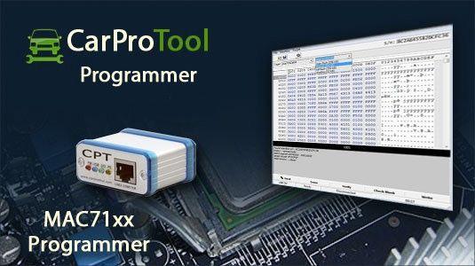 Aktywacja dla programatora #CarProTool wspiera między innymi : MAC7101, MAC7111, MAC7121