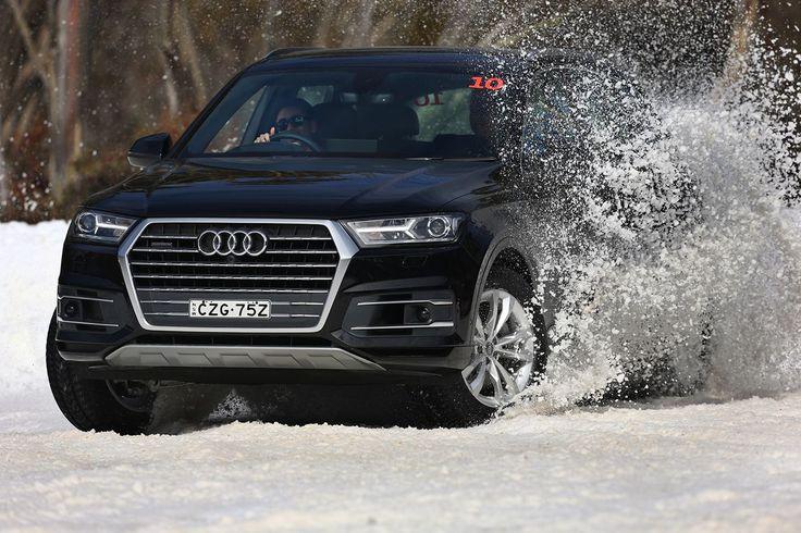 Ice Breaker: Behind The Wheel Of The 2015 Audi Q7 - #Audi, #AudiQ7, #MountHotham, #Quattro