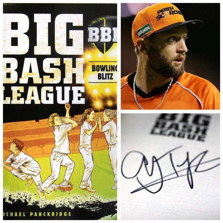 COMPETITION TIME | Win a BBL book signed by Scorchers bowling ace Andrew Tye for a little cricket lover! Head to Instagram to enter before 4PM today >> https://www.instagram.com/scorchersbbl/?utm_campaign=coschedule&utm_source=pinterest&utm_medium=Perth%20Scorchers