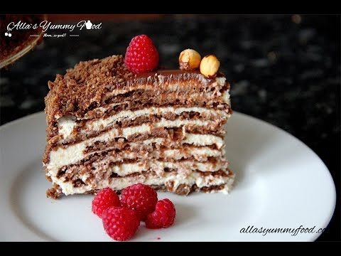 Chocolate Spartak Cake Recipe - Торт Спартак - Рецепт