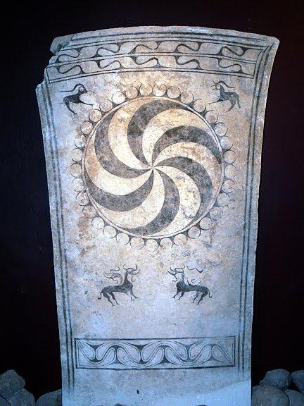 Rune stone from Gotland