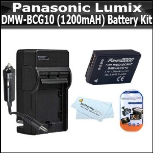 Click Here http://gadget-core.com/bestseller.php?p=B004BFC260 For Best Price and Cheap Battery Kit For Panasonic Lumix DMC-ZS7 DMC-ZS10, DMC-ZS8, DMC-ZS9, DMC-3D1, DMC-ZS20, DMC-ZS15 Digital Camera Includes Extended Replacement Panasonic DMW-BCG10 (1200 mAH) Lithium-Ion Battery + AC/DC 110/220 Travel Charger + LCD Screen Protectors + More (Electronics) Best Seller and Best Buy click image to review :D
