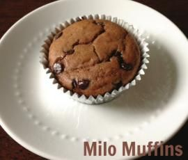 Recipe Milo Muffins by JLC - Recipe of category Baking - sweet