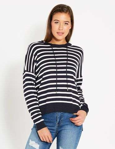 Just Swell Hooded Jumper