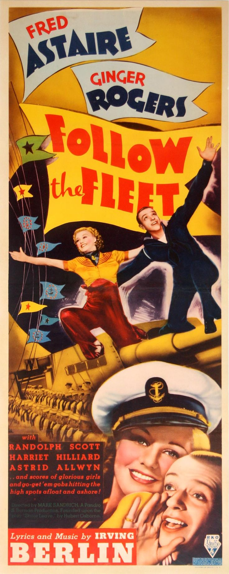 Follow the Fleet 1936 | Fred Astaire + Ginger Rogers
